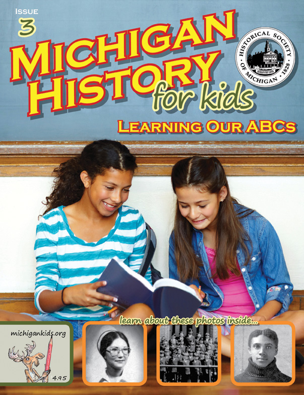 Cover of Michigan History for Kids - May/June 2015 Issue
